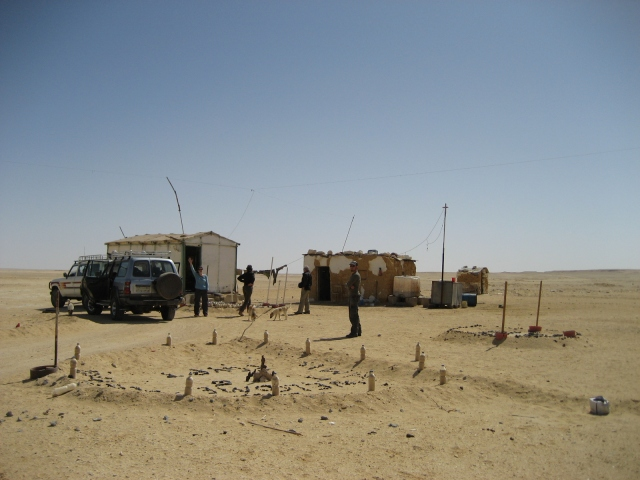 En route to the Western Desert