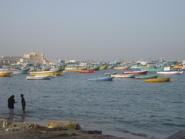 Alexandria harbour