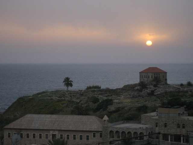 Byblos by dusk