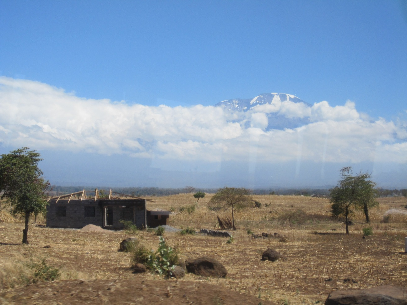 Kilimanjaro - the closest we came