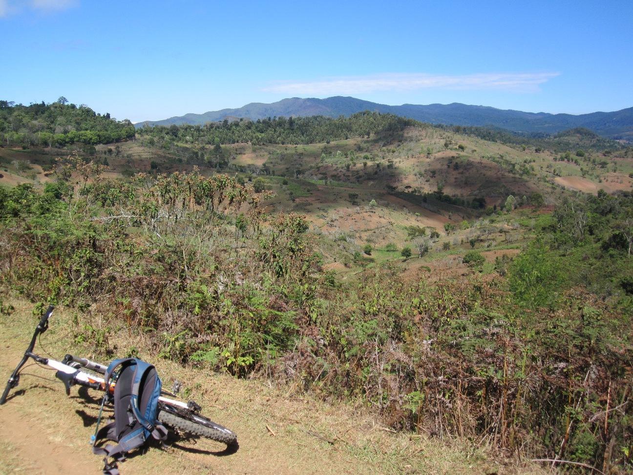 Usambara post (and pre) hill