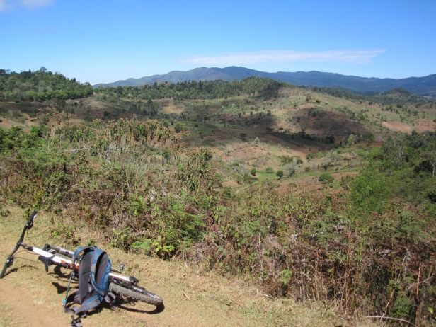 Usambara post (and pre) hill