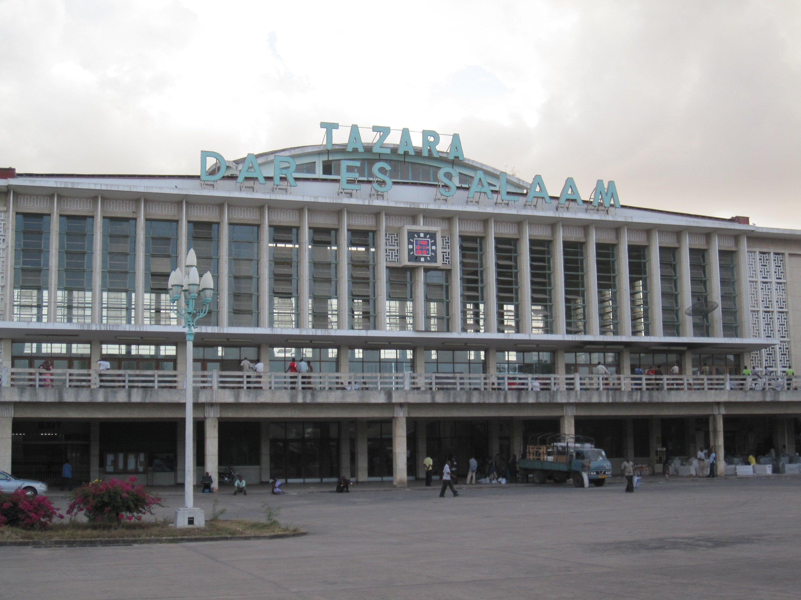 Dar station in all its art deco glory