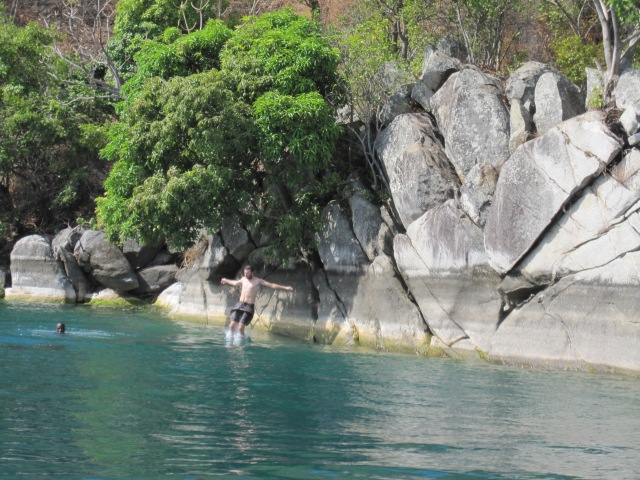 """Cliff"" jumping"