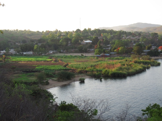 The eponymous village