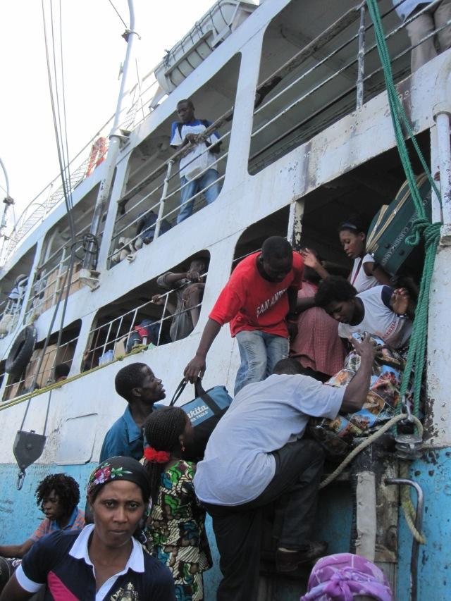 """""""To disembark is human"""""""