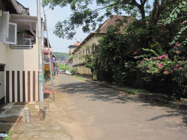 Finally, a quiet street