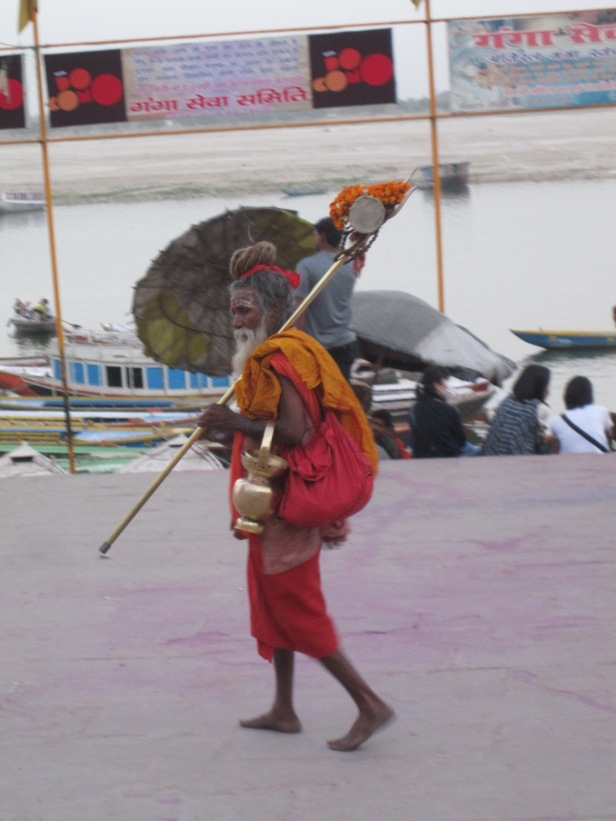 Local sadhu