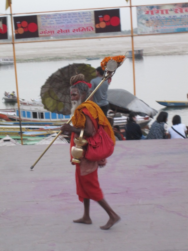 Local sadhu