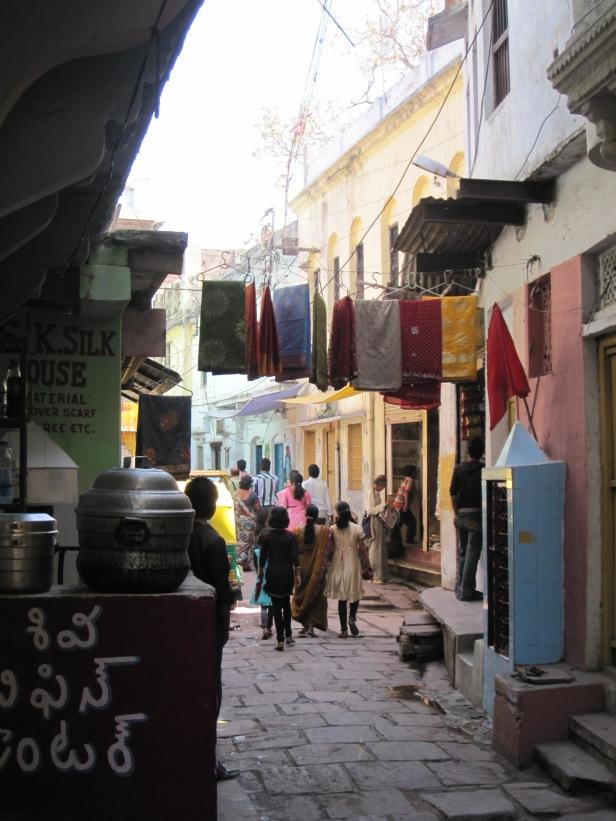 Varanasi alleys