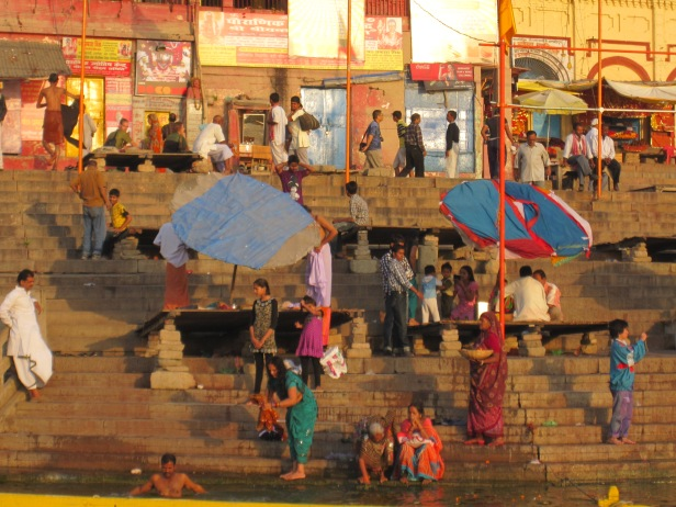 A day on the Ganges