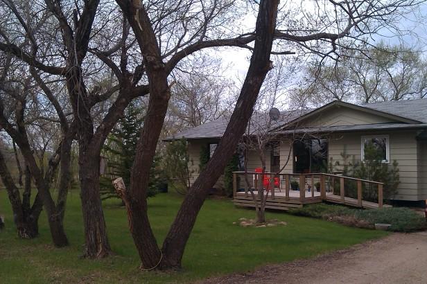 The family acreage