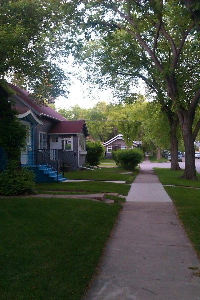 Nutana backstreets