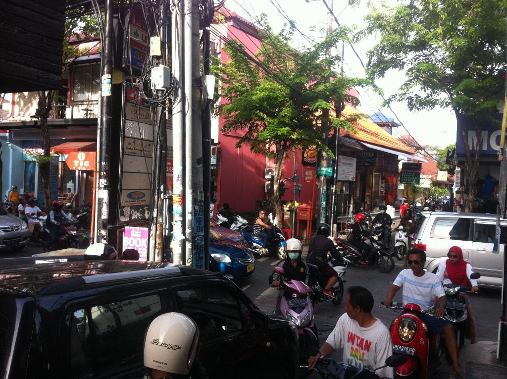 Balinese rush hour
