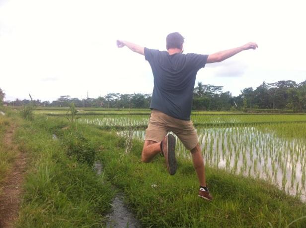 Pond hoppin'