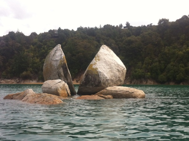 """The Most Photographed Rock in New Zealand"""