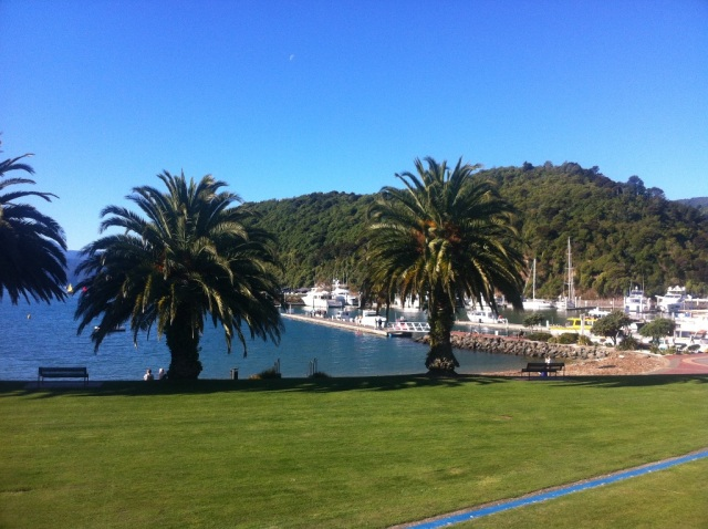 Sunny afternoon on the Picton waterfront