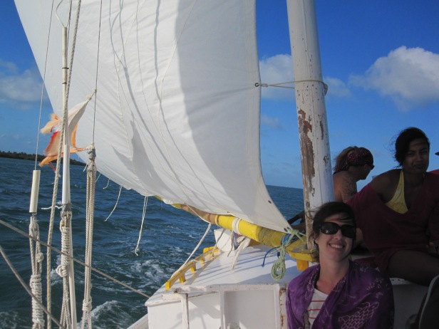 I'm sailing! I'm a sailor!