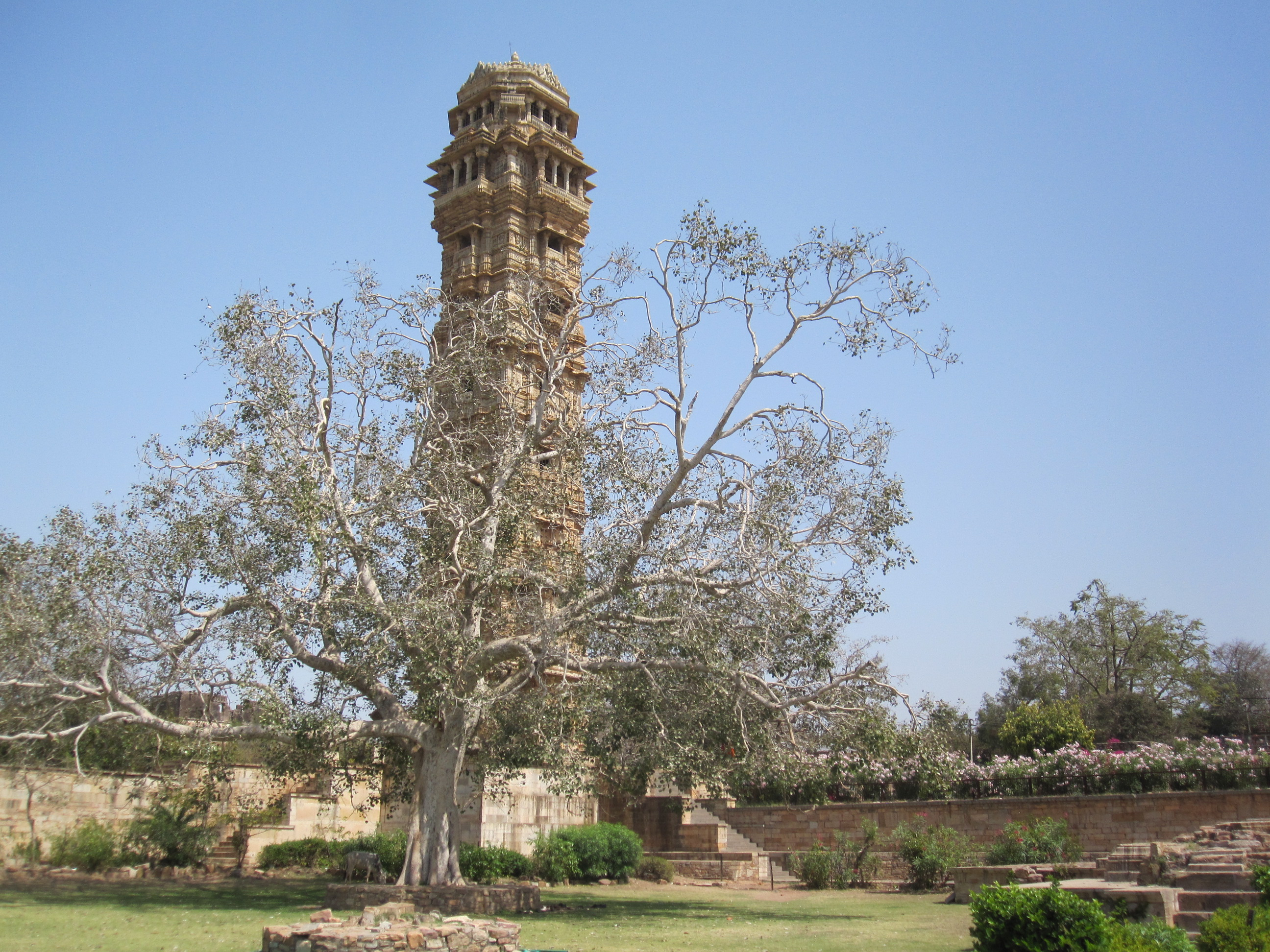 Monument in Chittor