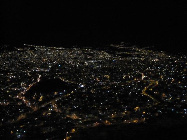 La Paz by candlelight