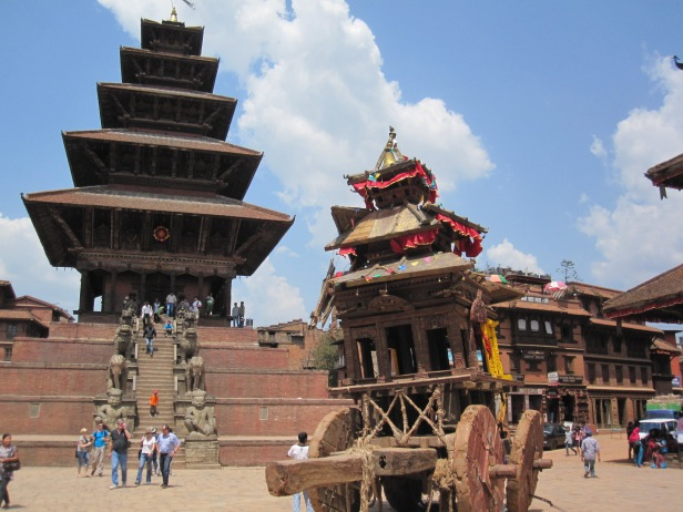 What's left of Bisket Jatra