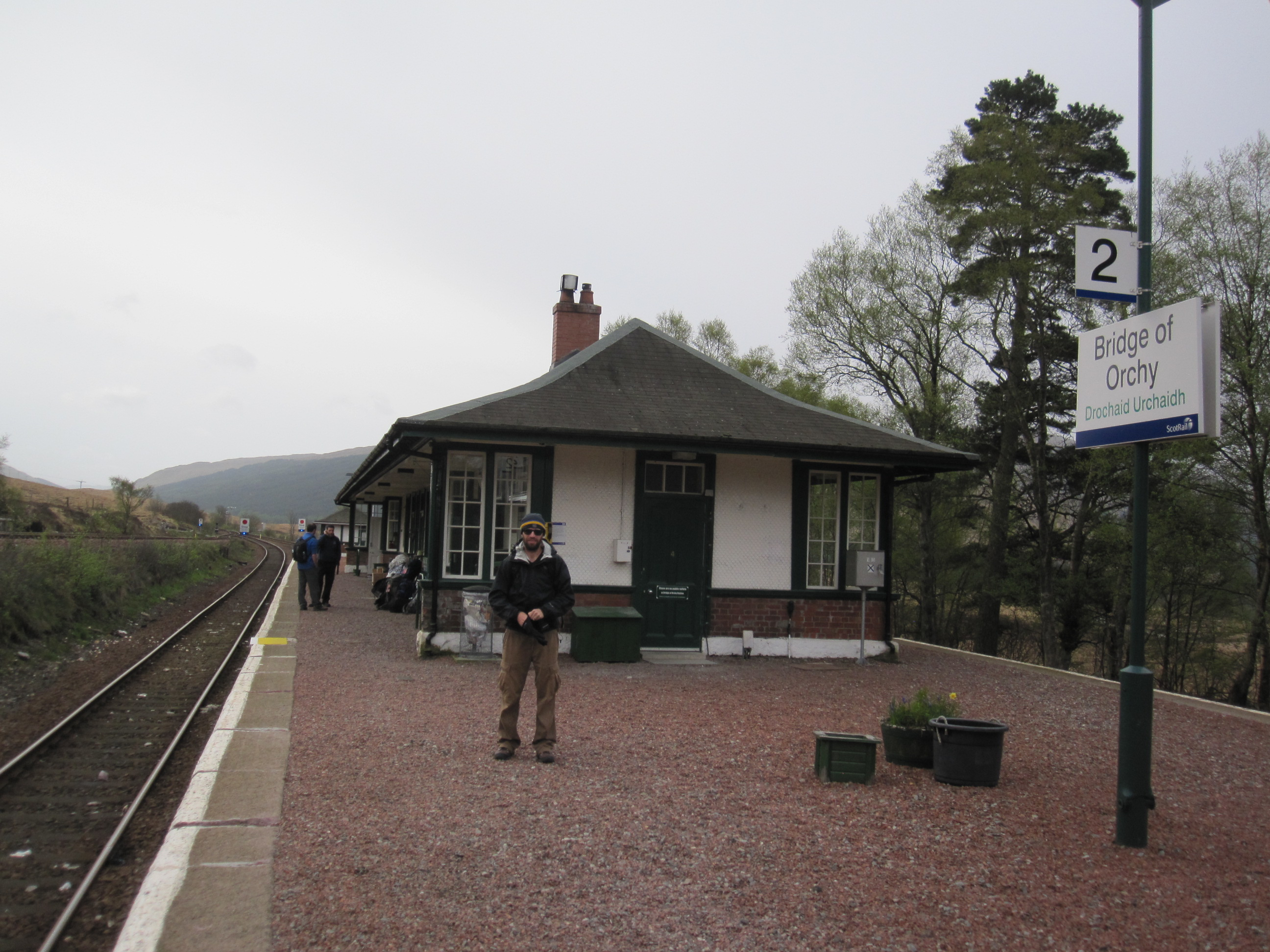 Bridge of Orchy bunkhouse/train station