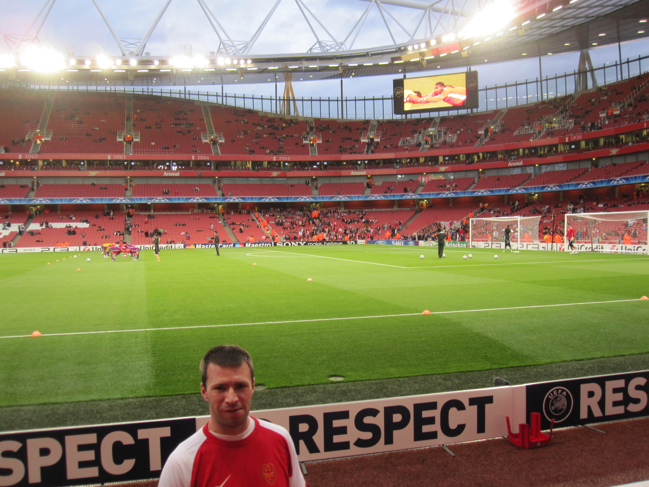 Getting ready for the Gunners!