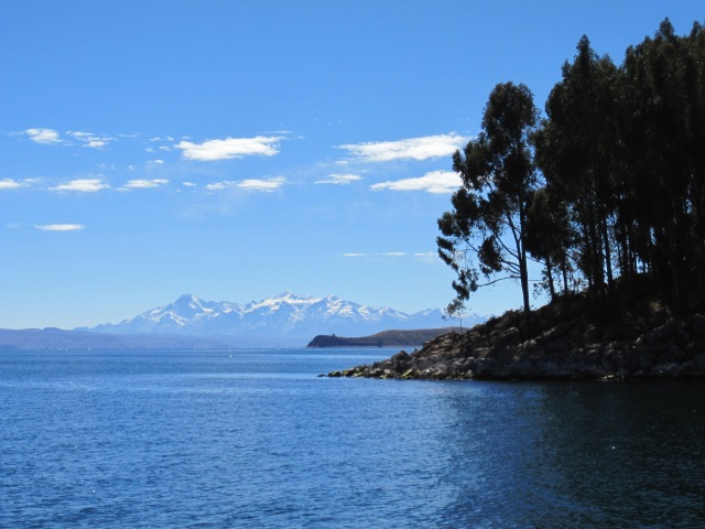 Lake Titicaca and the Cordillera Real