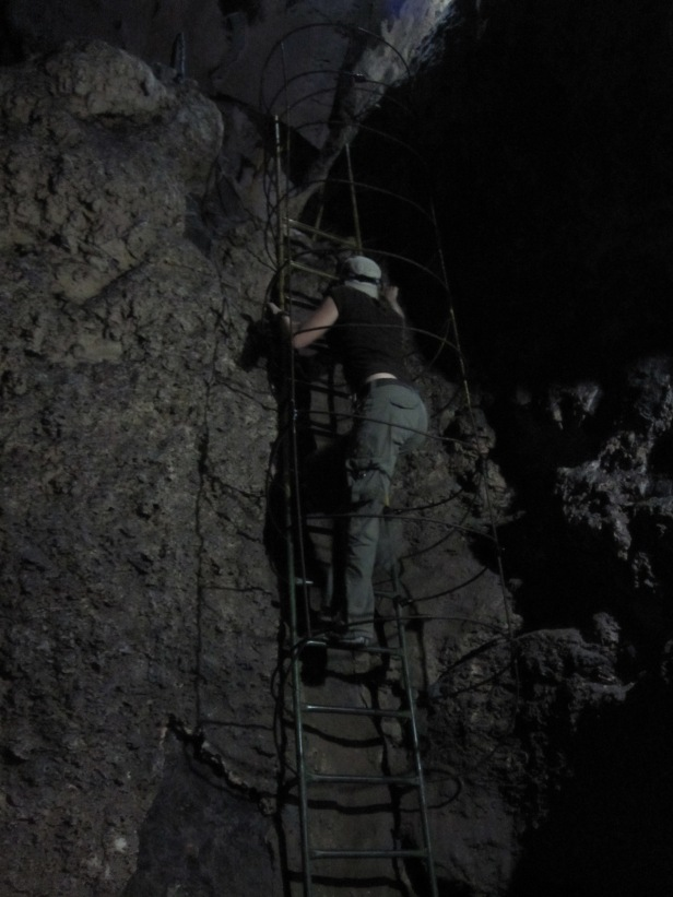A real live spelunker