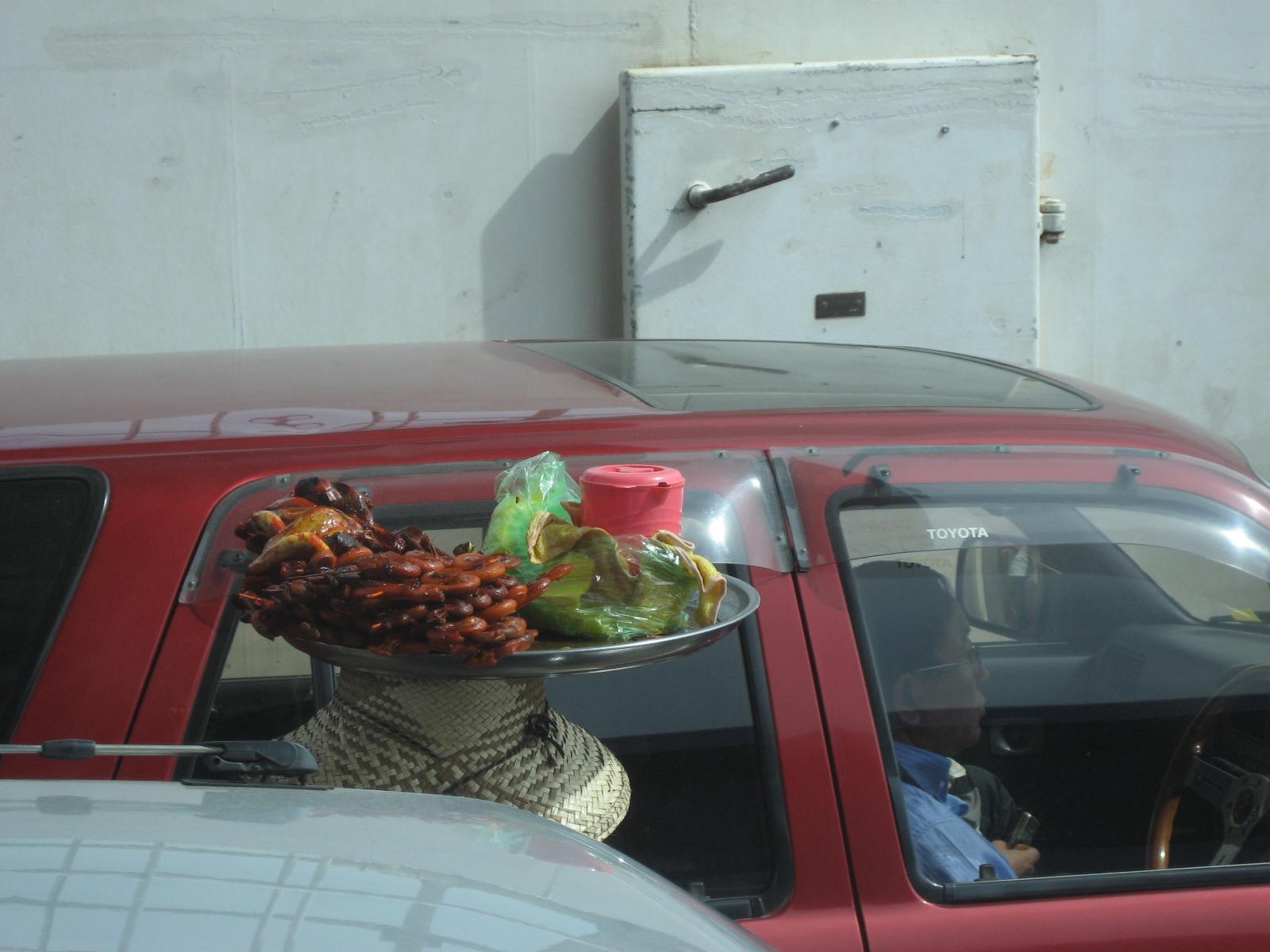 Roadside snacks