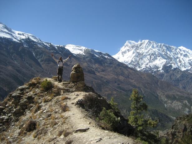 Ghyaru-Ngawal trail - 3,800 metres