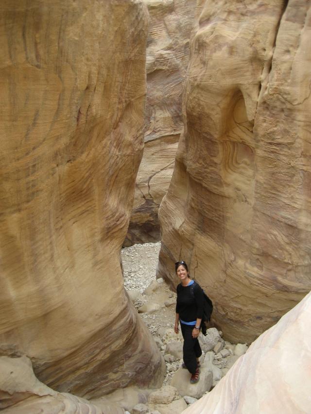 Quiet back streets of Petra