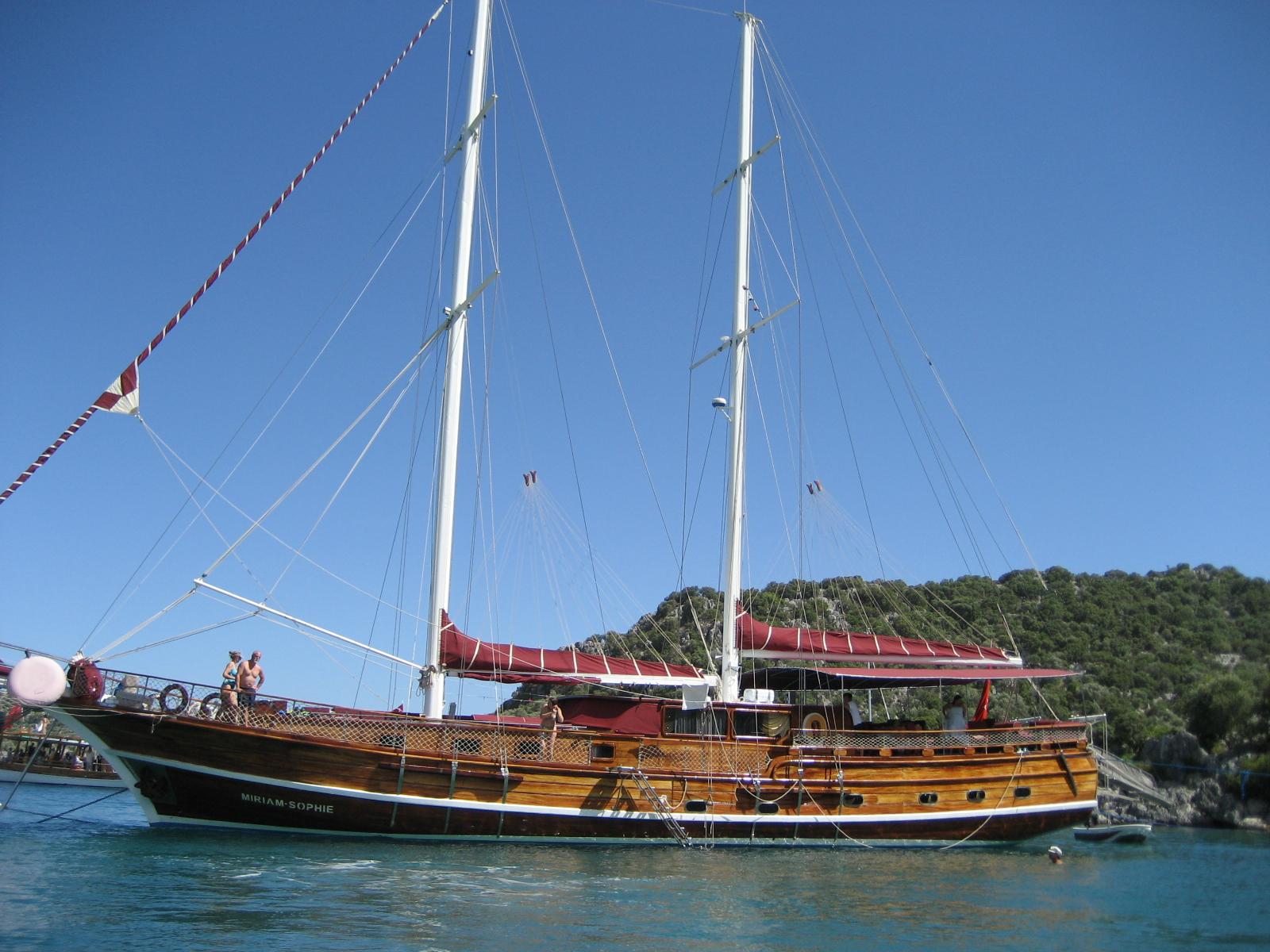 Our humble schooner