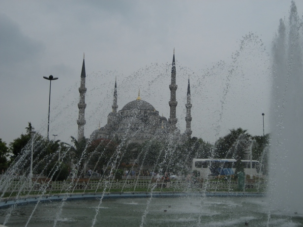 Watery Blue Mosque