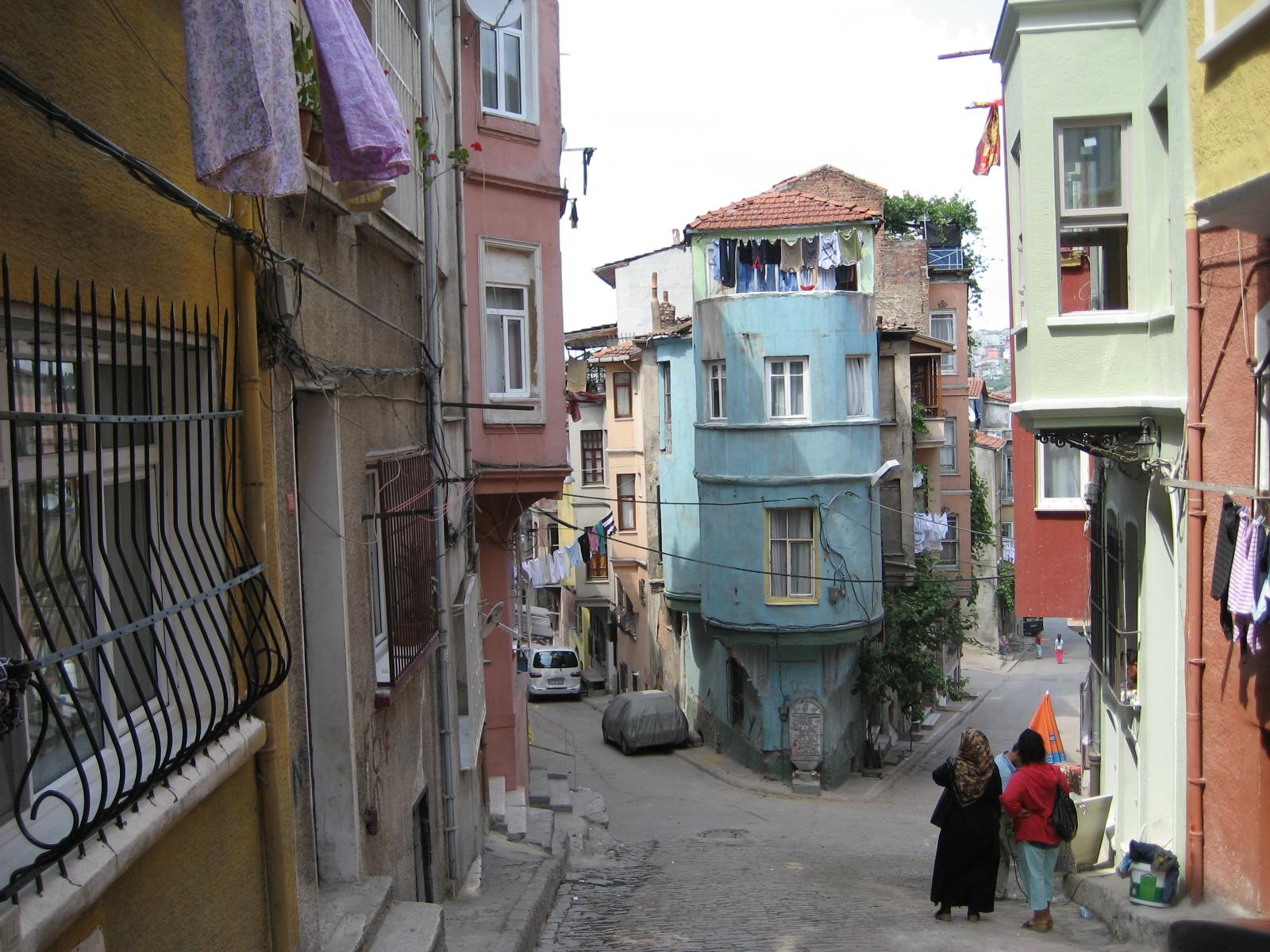 The Jewish quarter of Balat