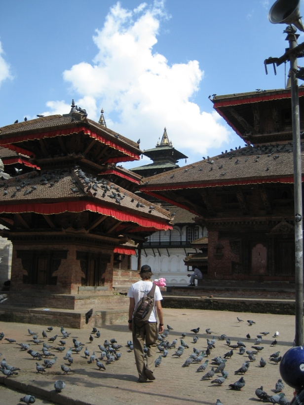 The Pied Piper of Durbar Square