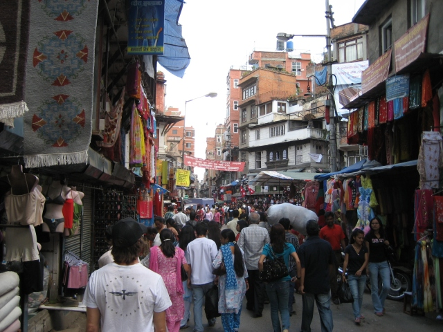 The Mean Streets of Kathmandu
