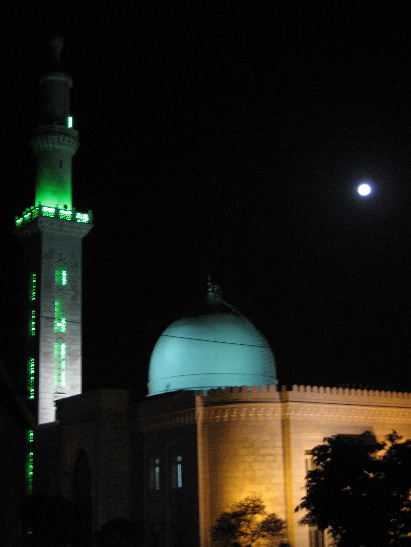 Damascus by night