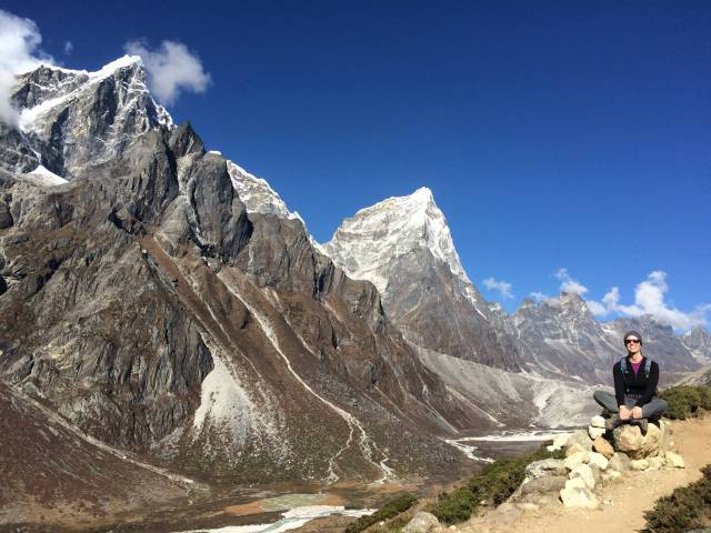 On the way to Lobuche