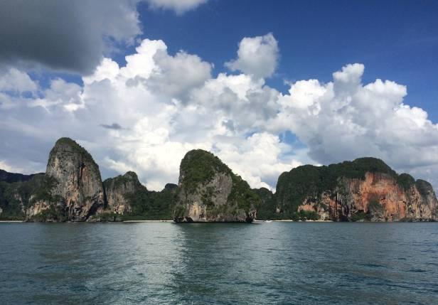 Approaching Ao Nang