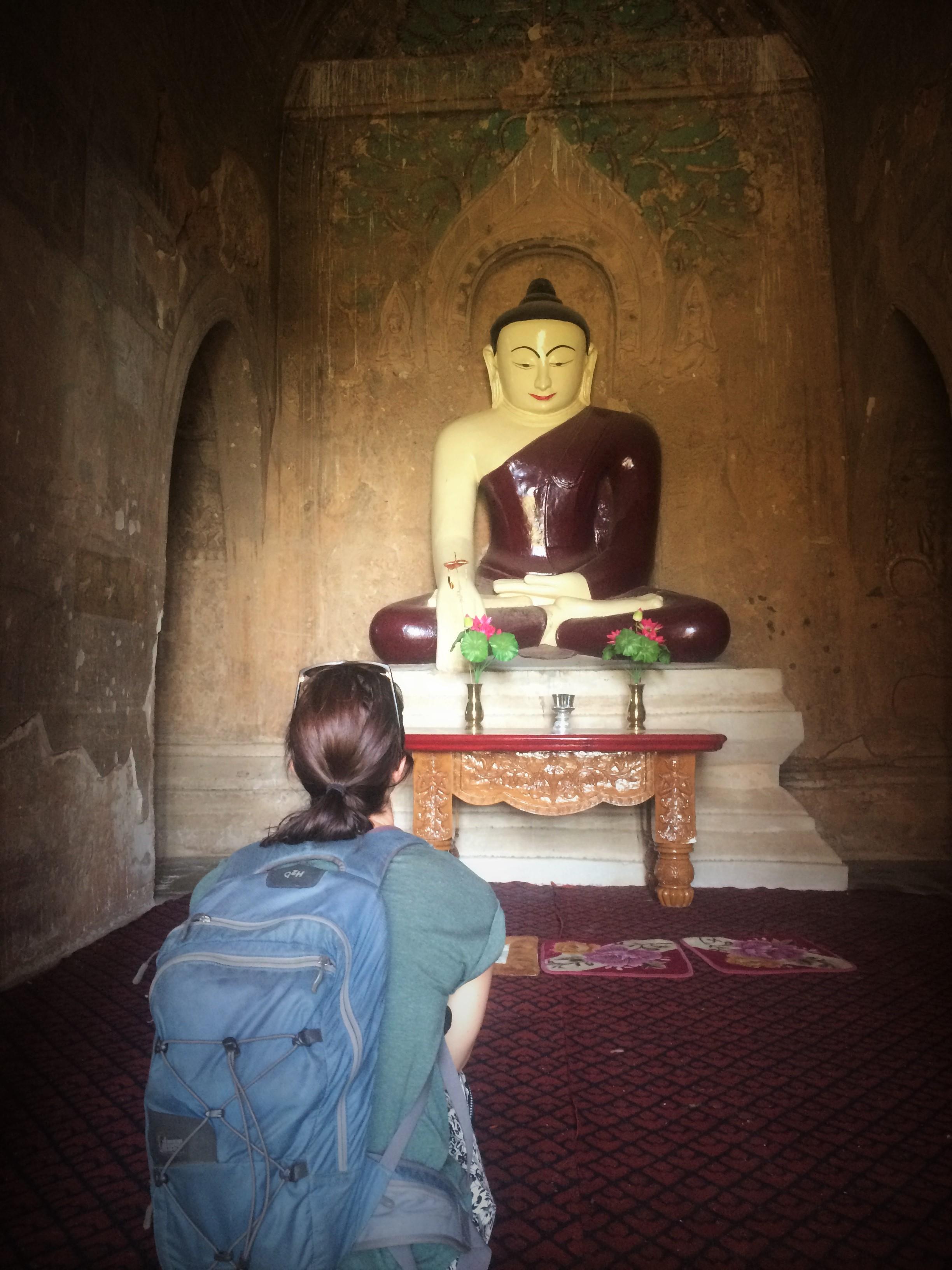 Why, hello, Buddha