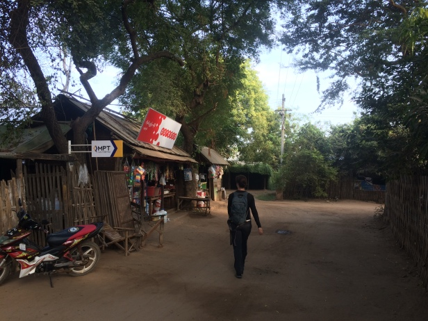 Old Bagan village