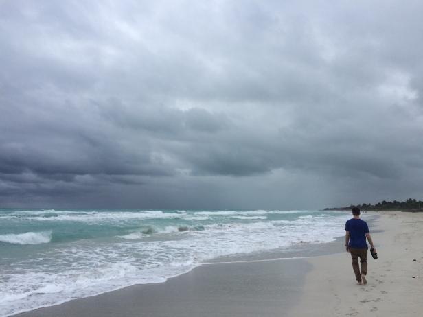 Windswept Varadero beach