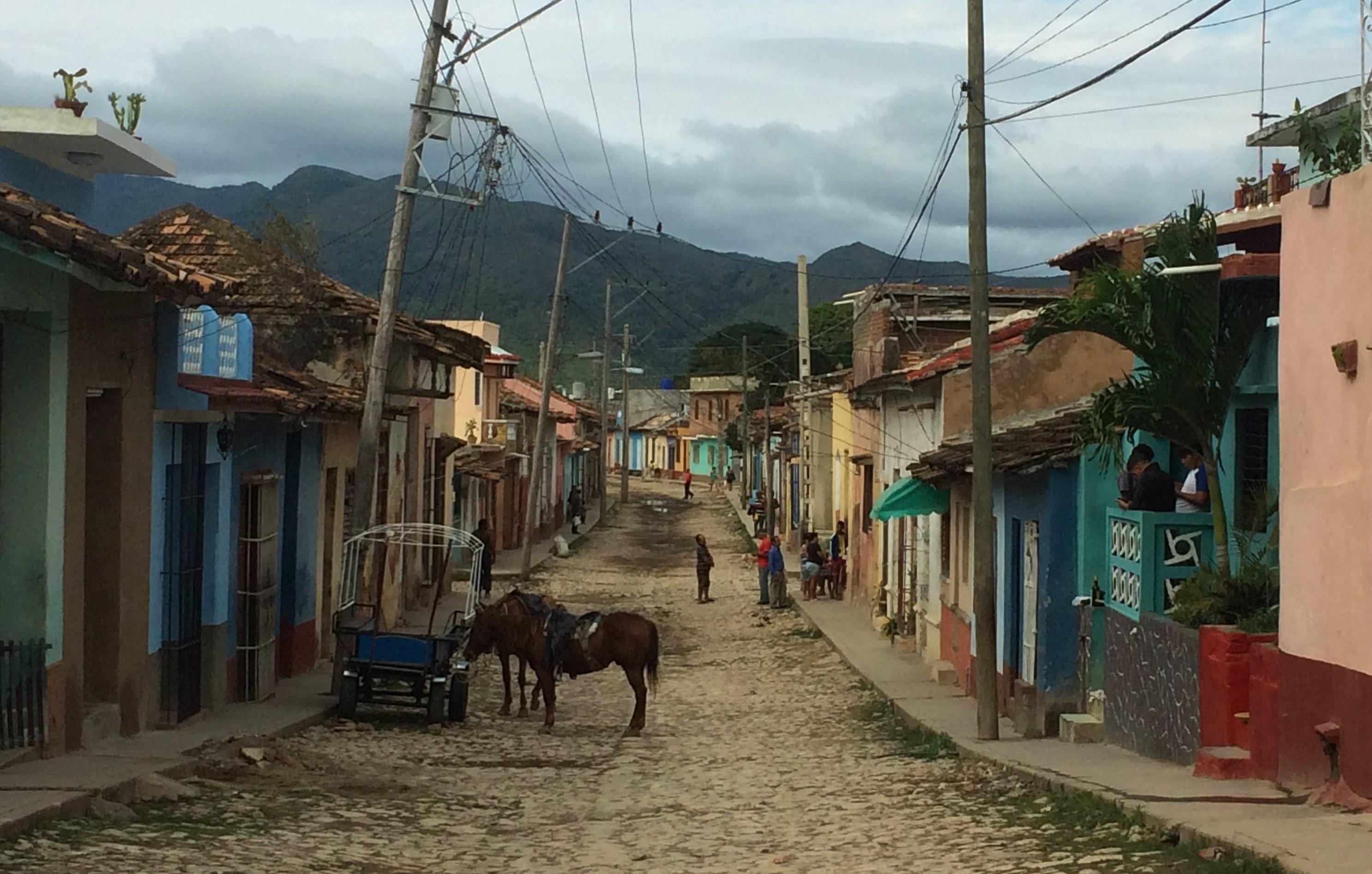 Mean streets of Trinidad
