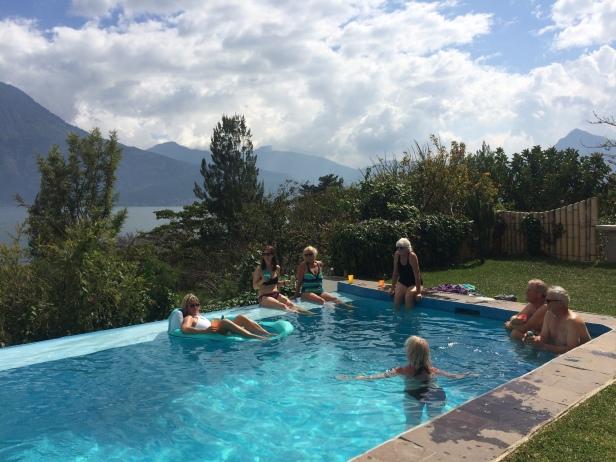 Ye Olde Pool Party