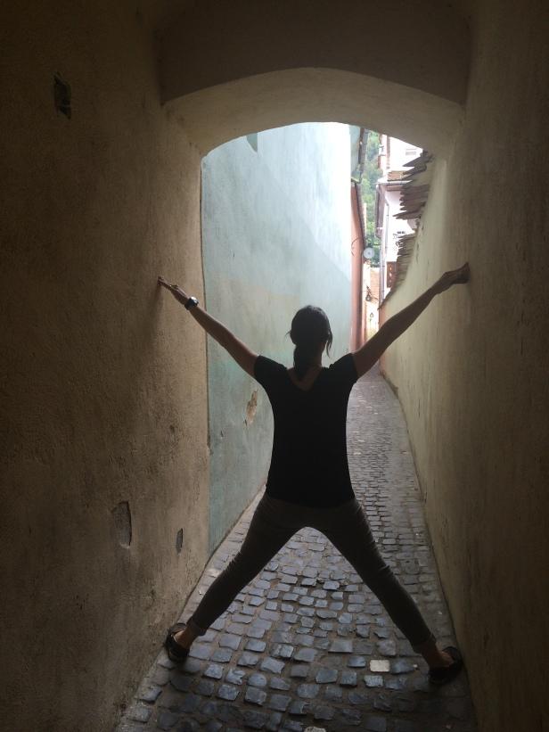 Rope Street - look how narrow it is!