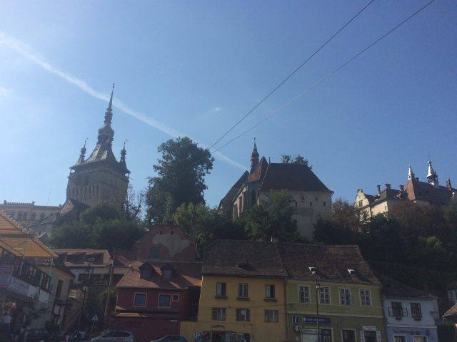 Sighisoara skyline