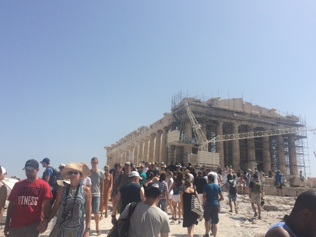Crowds and scaffolding