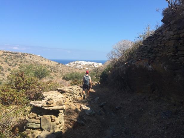 Walking down to Kastro