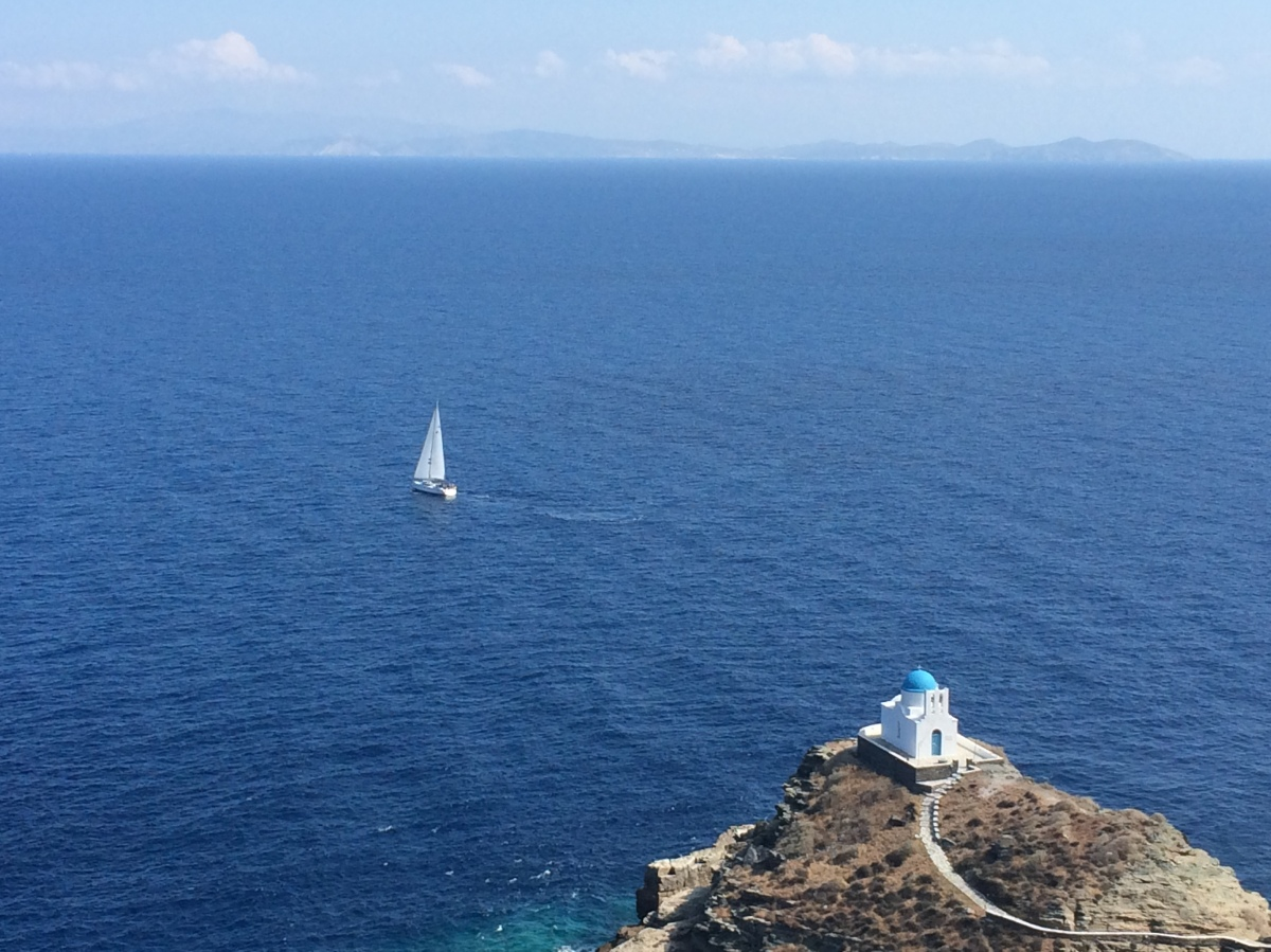 Sifnos: Poseidon's Big Toe